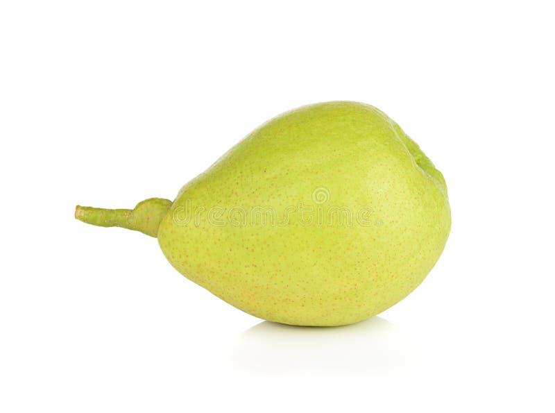 Kinesiskt doftande päron som isoleras på vit bakgrund royaltyfria foton