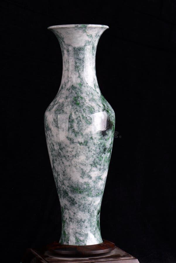 Kinesiskt forntida snida för jade arkivfoto
