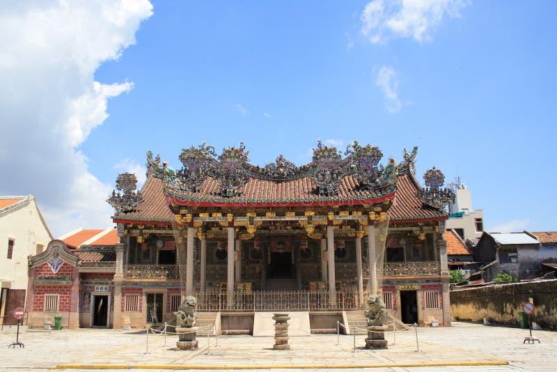 kinesiskt georgetown tempel arkivfoton