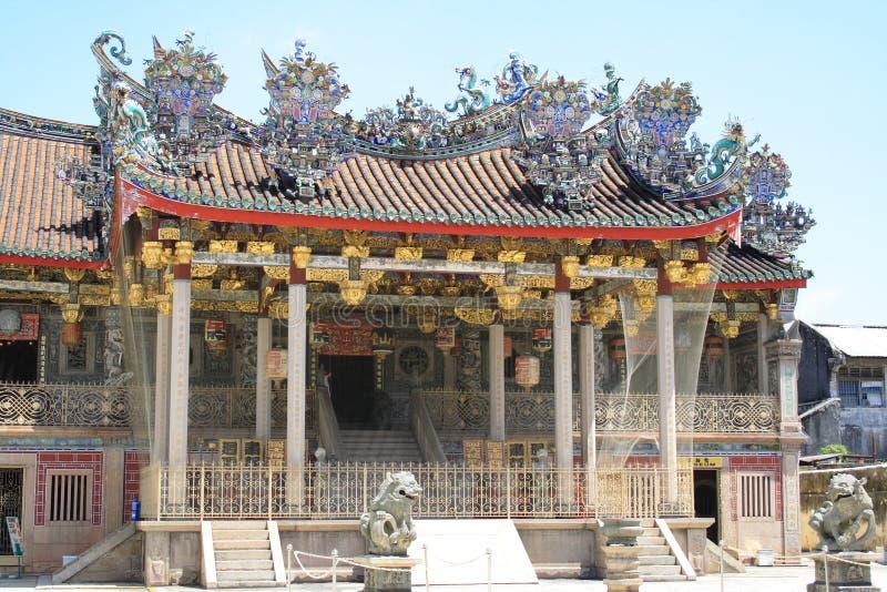 kinesiskt georgetown tempel royaltyfri fotografi