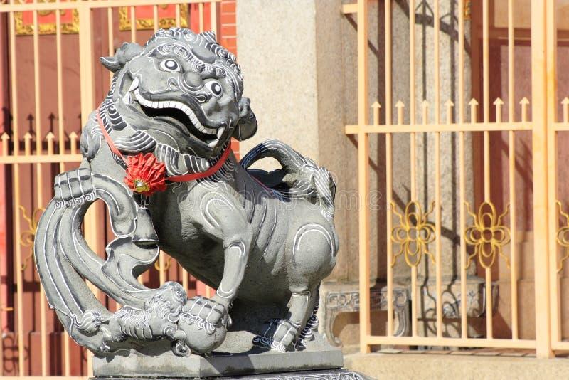 kinesiskt georgetown tempel arkivbilder