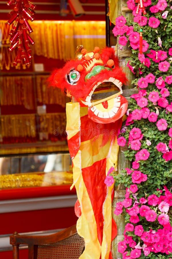 Download Kinesiskt lejon fotografering för bildbyråer. Bild av show - 37347041
