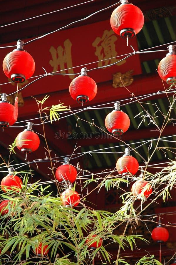 kinesiskt malaysia penang tempel royaltyfri bild