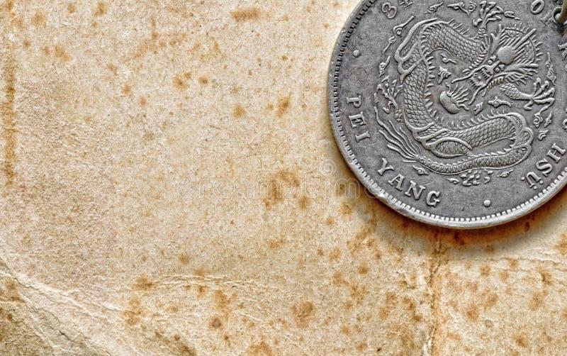 Kinesiskt mynt arkivbilder