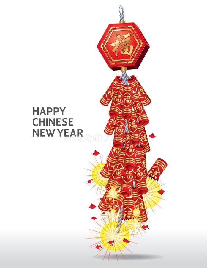 Kinesiskt nytt år för brandsmällare.