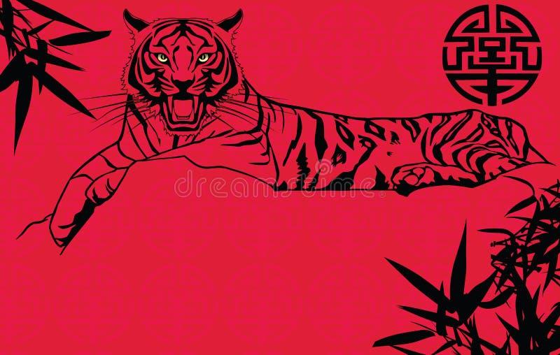 Kinesiskt nytt år för tiger
