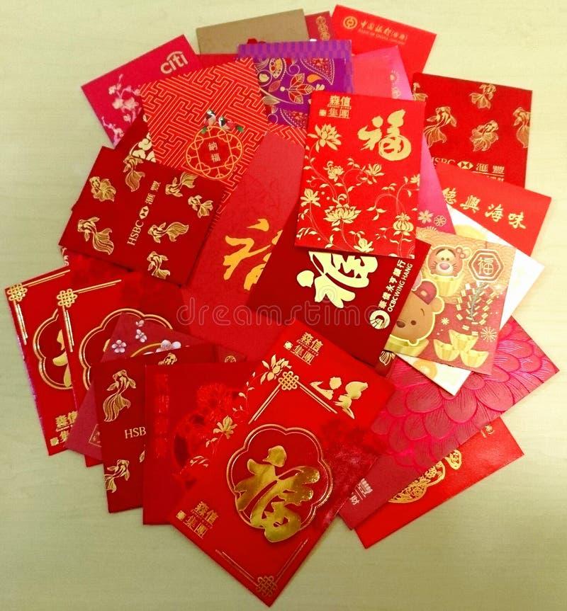 kinesiskt nytt paketredår arkivfoto