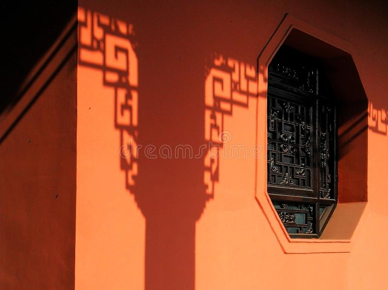 kinesiskt stiltempel arkivbilder