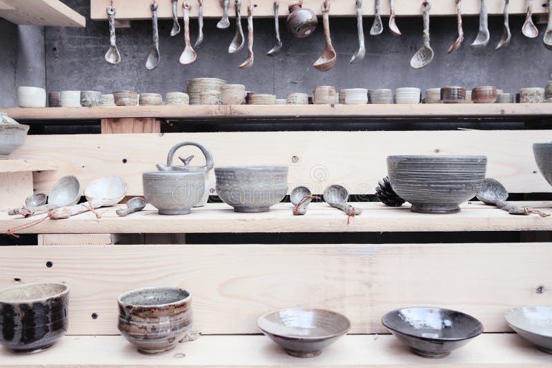 Kinesiskt teexponeringsglas arkivfoto