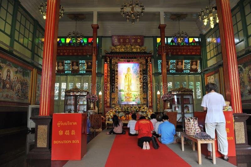 Kinesiskt Tempel Redaktionell Bild