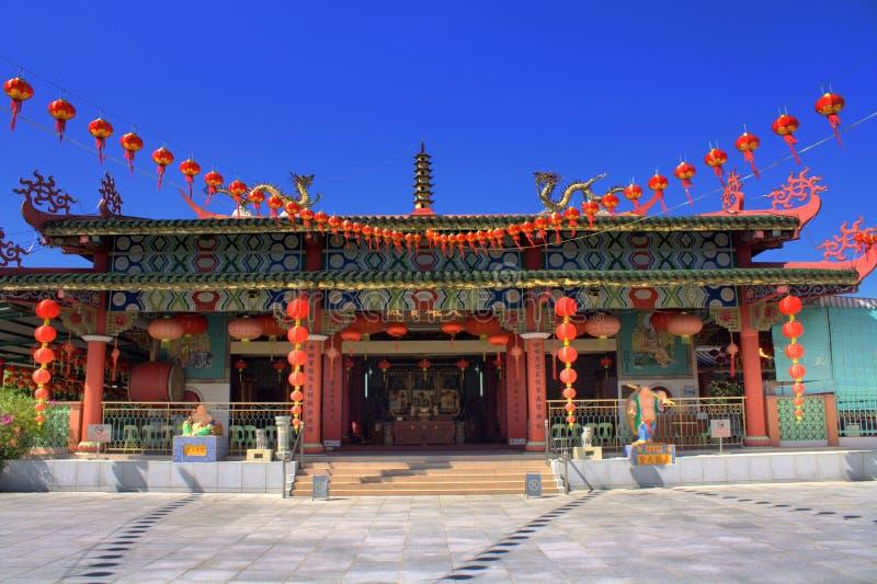 kinesiskt tempel arkivfoto