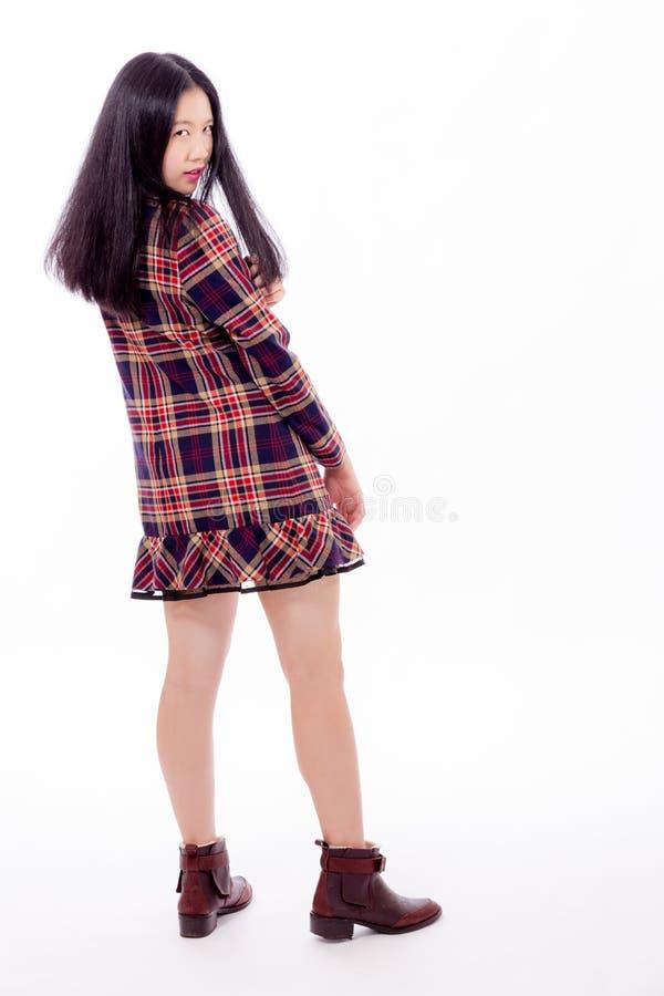 Kinesiskt tonåringanseende royaltyfria bilder