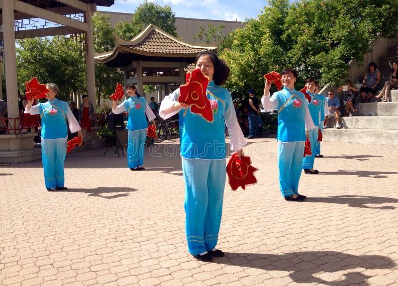 Kineskvartergatafestival royaltyfri fotografi