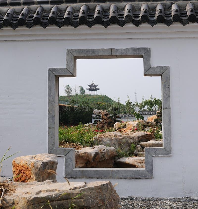 Kinesträdgård royaltyfri fotografi