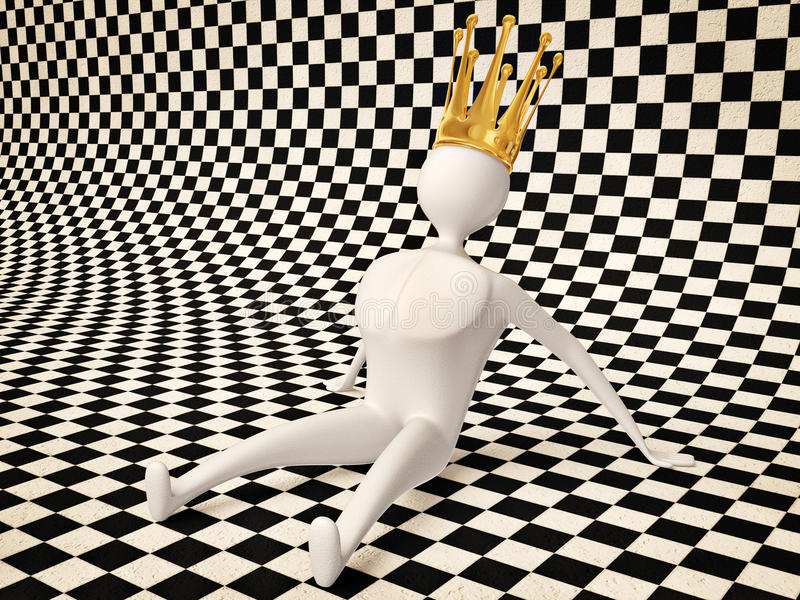 Download King stock illustration. Image of concept, figure, object - 21318357