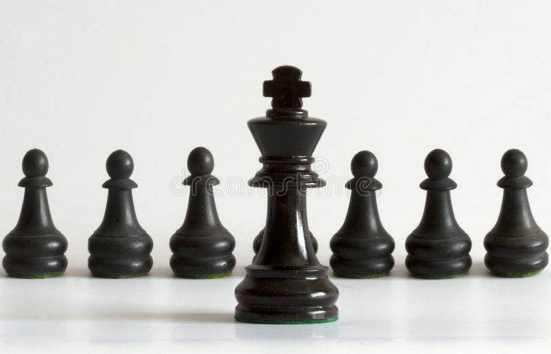 Download King stock image. Image of wood, game, pawns, symbol, contrast - 6002447