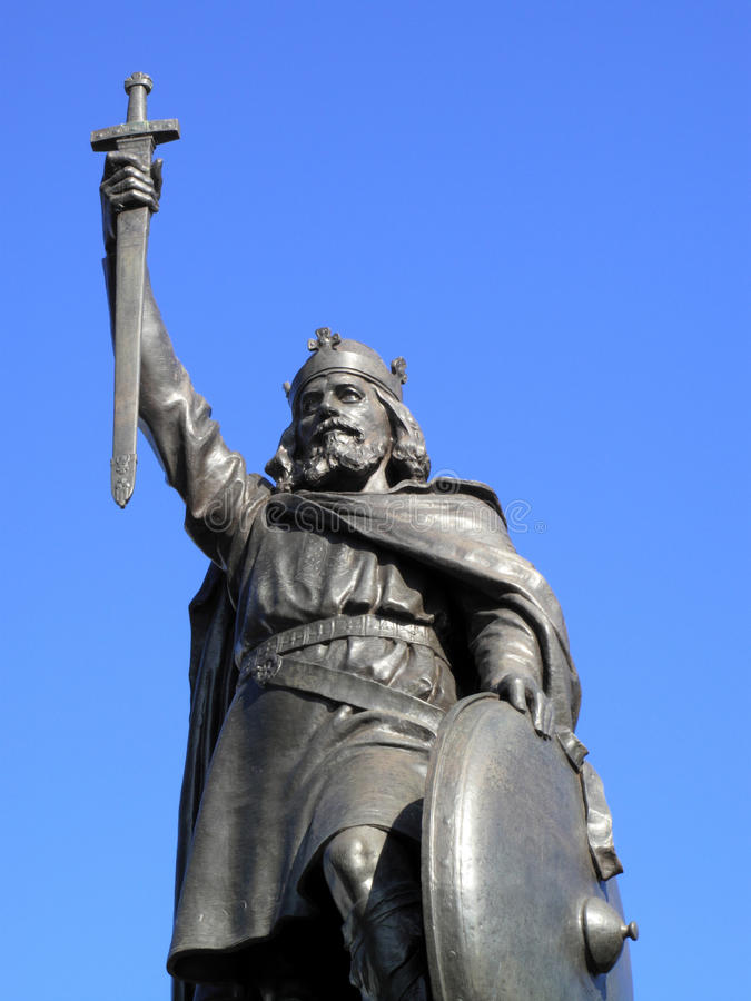 Download King Alfred The Great Statue Stock Photo - Image: 10909626