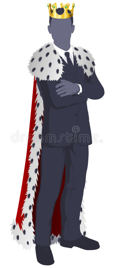 Download King of business stock vector. Illustration of businessperson - 26010282