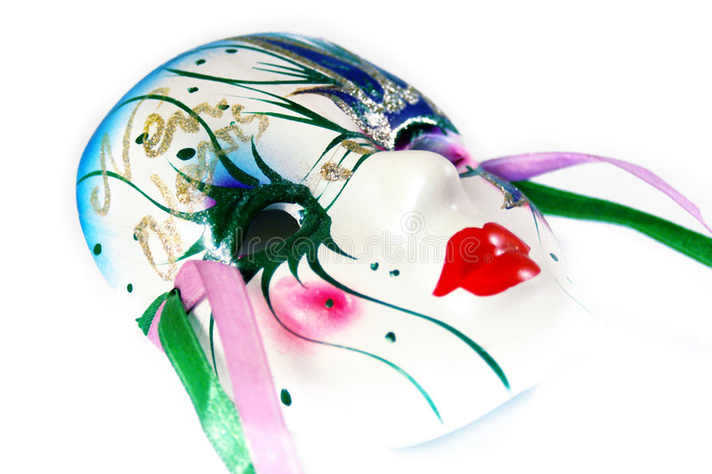 King Cake Mask stock photography