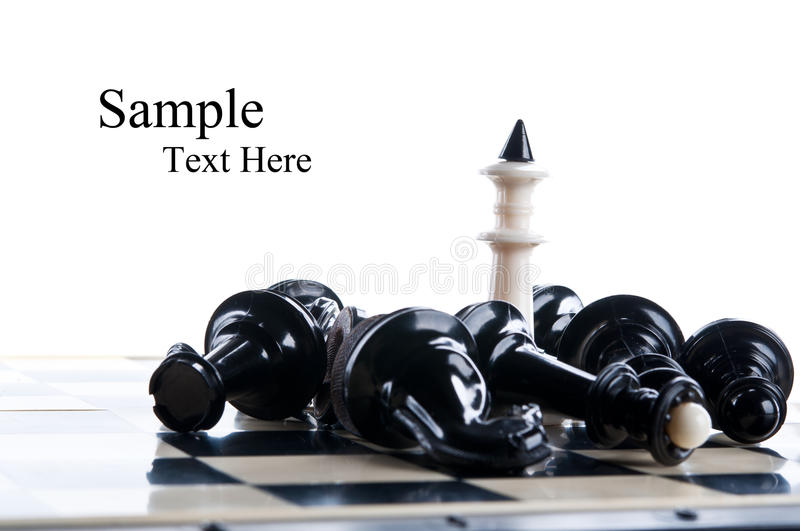 Download King chess piece stock image. Image of object, move, entertainment - 22010809