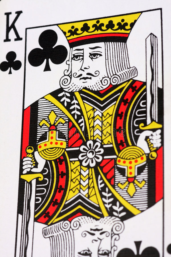 Download King of Clubs stock photo. Image of game, lose, chance - 7943136