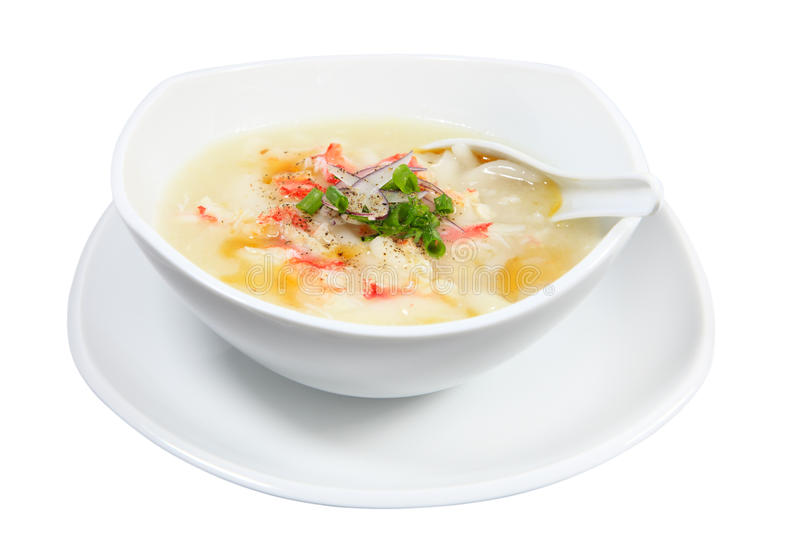 King Crab Soup stock photos