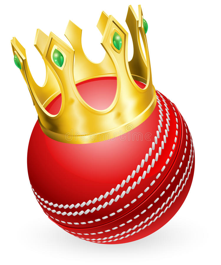 Download King of cricket stock vector. Image of jewelry, jewel - 25525997