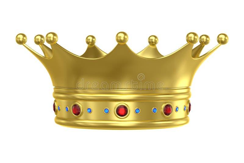 King Crown vector illustration