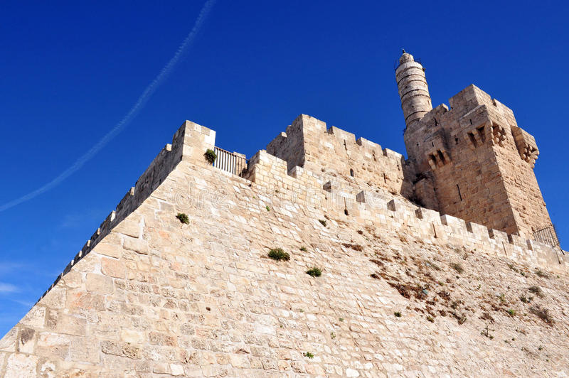 Download King David Citadel stock photo. Image of holy, outdoors - 26007004