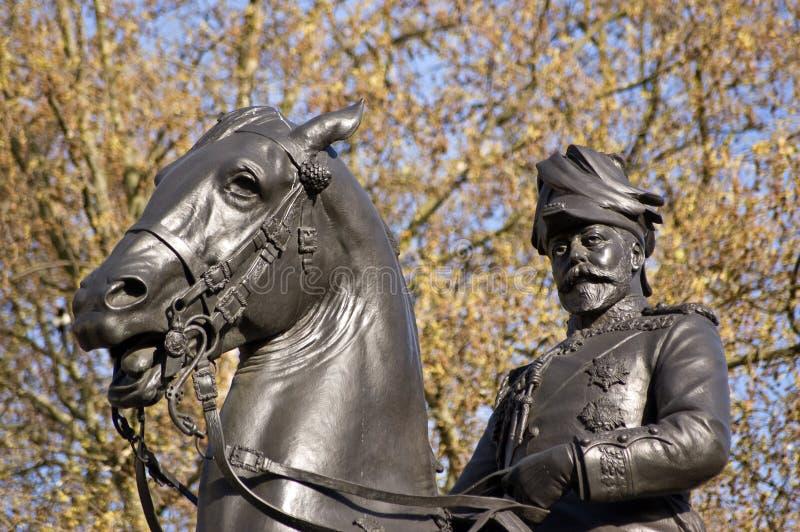 King Edward VII Statue royalty free stock photography