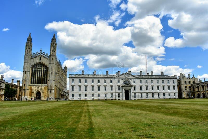 King& x27; faculdade de s e capela, Cambridge @ Reino Unido fotos de stock