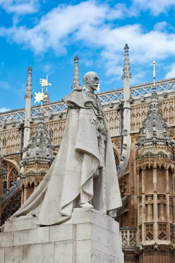 King George V Royalty Free Stock Images