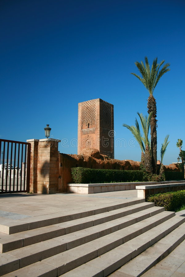 Download King Hassan Tower Morocco stock image. Image of royalty - 7386191