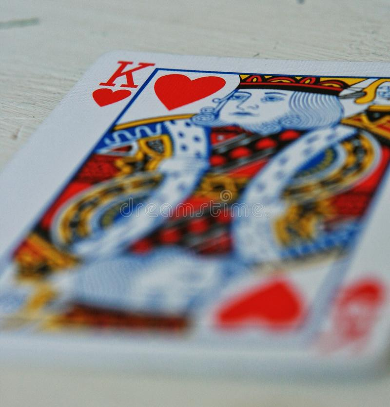 King of Hearts royalty free stock photos