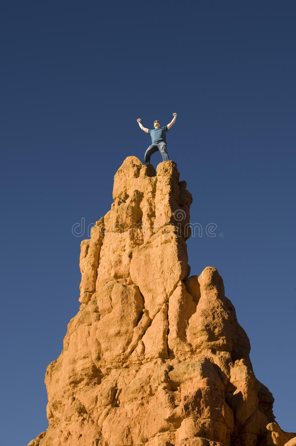 Download King of the Hill stock image. Image of conquest, apex - 9420969