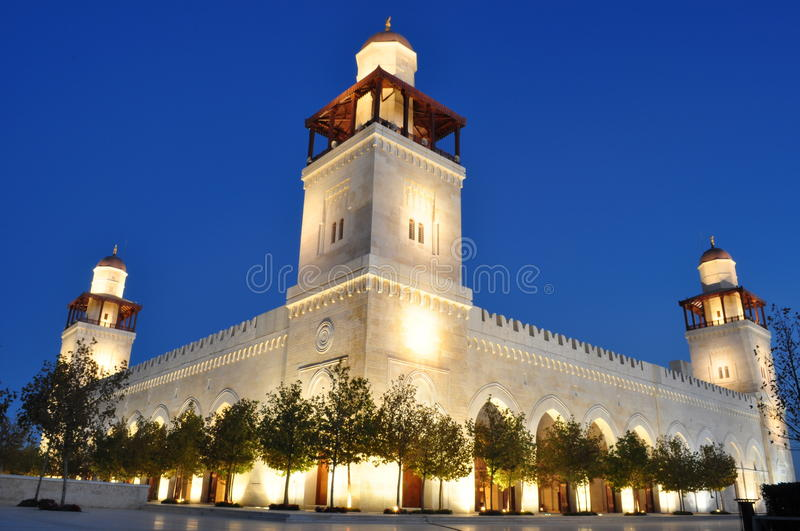 Download King Hussein's Mosque Stock Photography - Image: 17256672