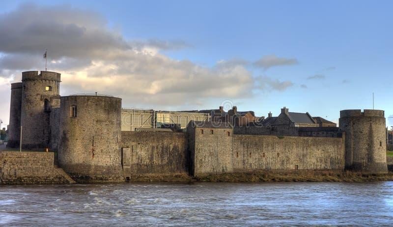 King John castle in Limerick, Ireland. King John castle in Limerick, in Ireland royalty free stock image