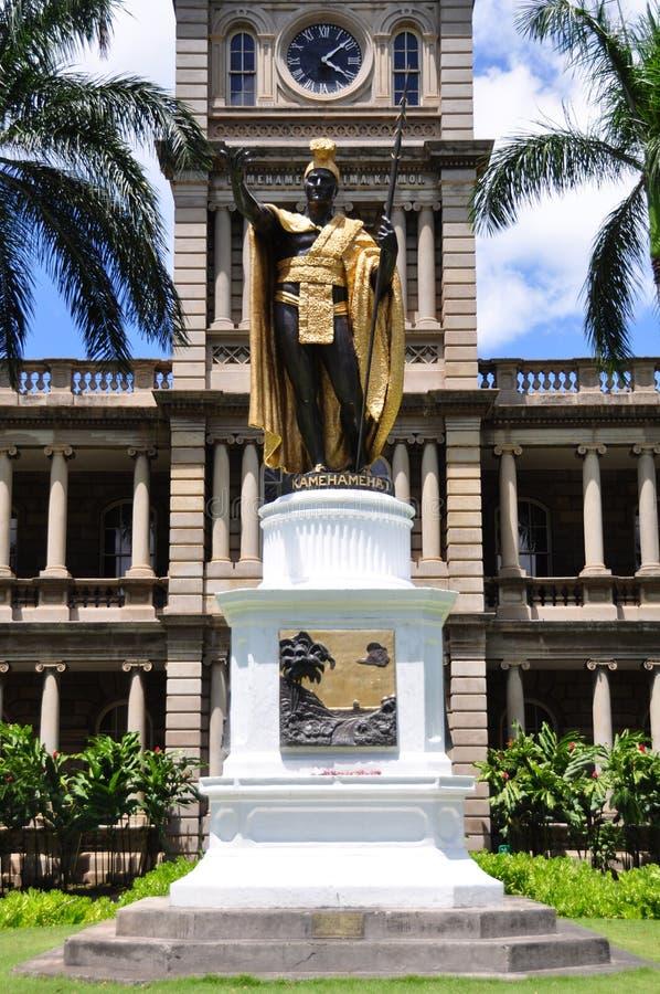 King Kamehameha statue royalty free stock photography