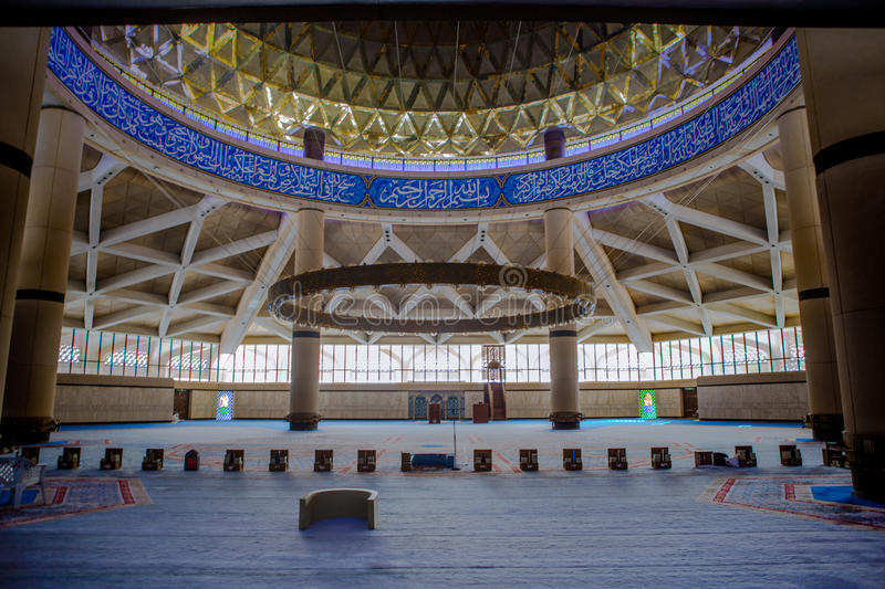 King Khalid International Airport Grand Mosque stock images