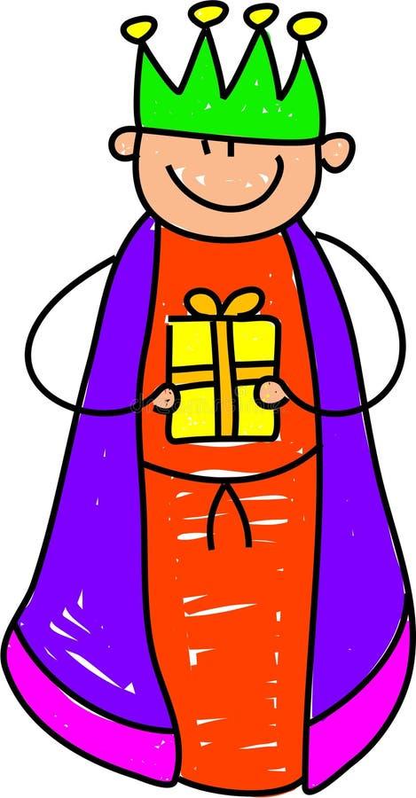 King kid royalty free illustration