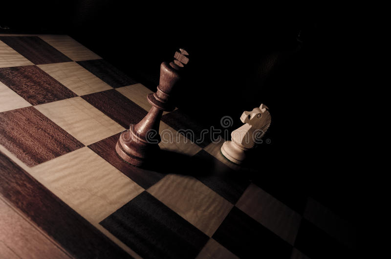 King And Knight Royalty Free Stock Images