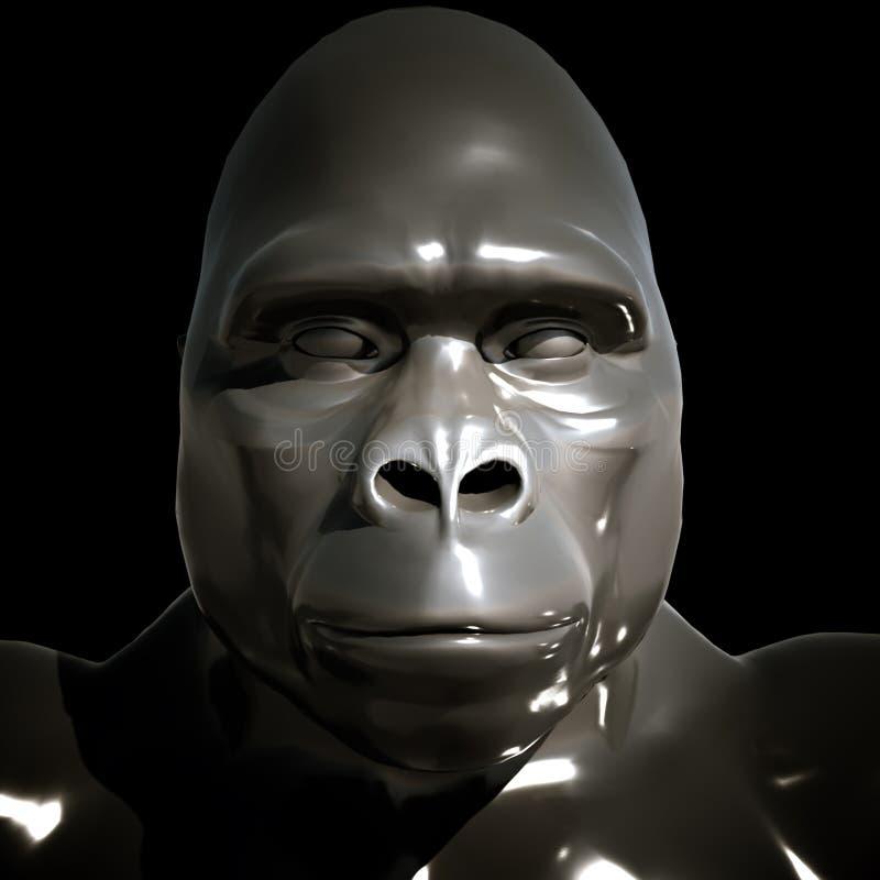 Download King Kong stock illustration. Image of portrait, mammal - 21198835