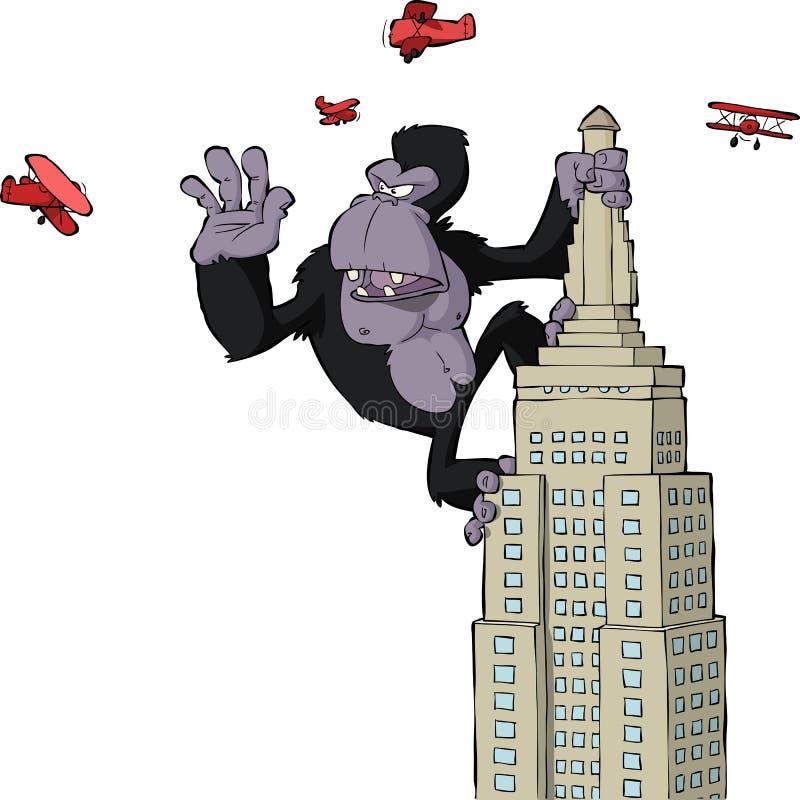 King Kong stock illustratie