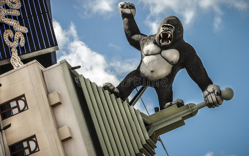 King Kong royalty-vrije stock afbeelding