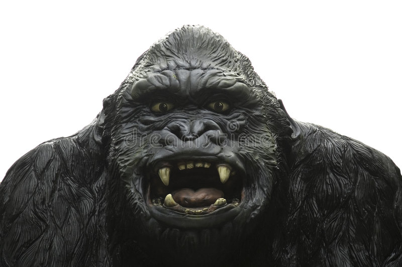 King Kong Statue royalty free stock photography