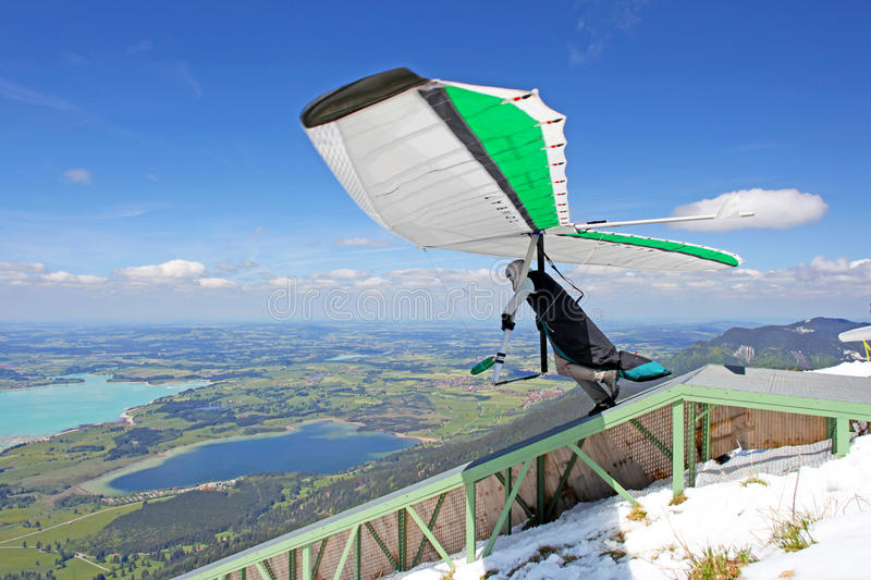 King Ludwig Championship hang gliding competitions royalty free stock photos