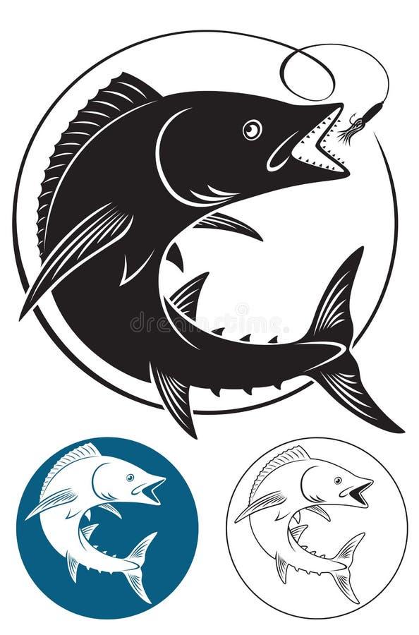 King mackerel royalty free illustration
