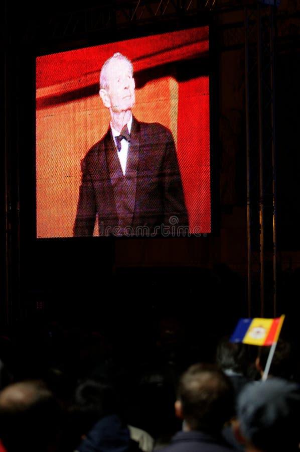 King Mihai of Romania royalty free stock photos