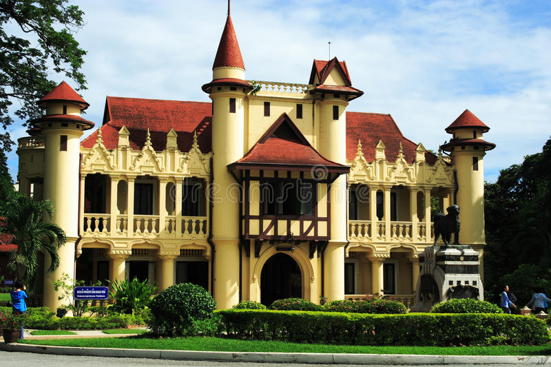 Download King Mongkut palace stock image. Image of castle, green - 24408045