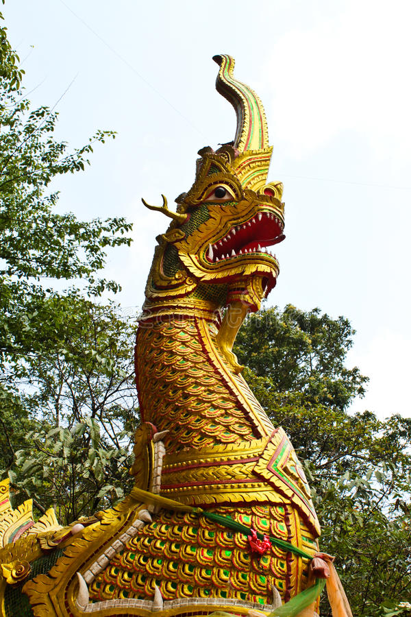 Download King Of Nagas stock photo. Image of golden, gold, decoration - 14130496